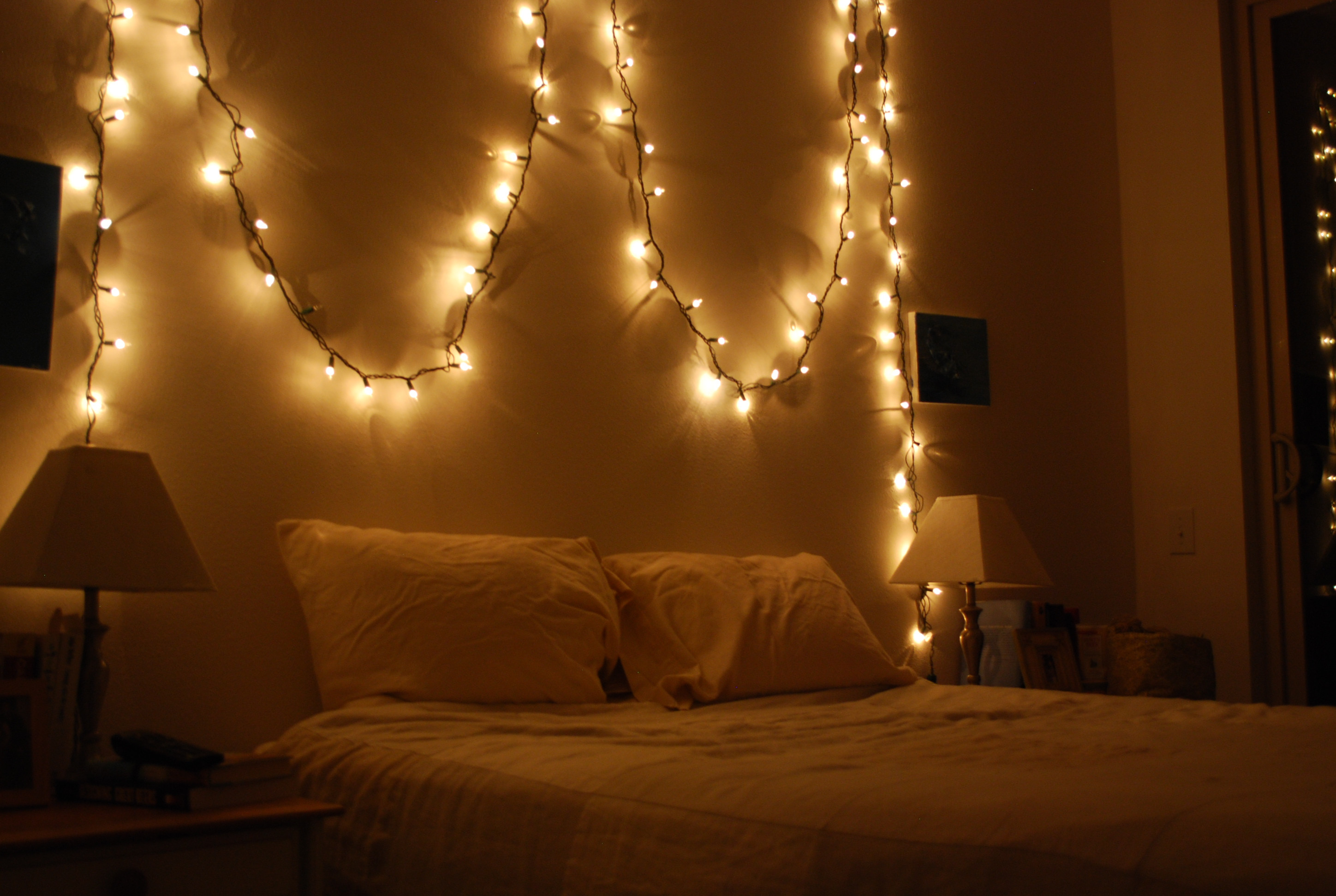Christmas Lights In Bedroom  1000 images about Bedroom on Pinterest