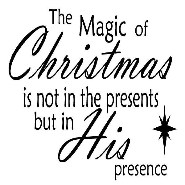 Christmas Magic Quote  The Magic Christmas s and for