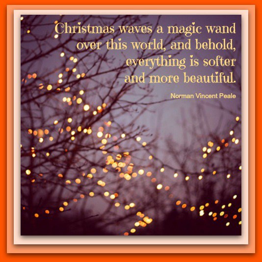 Christmas Magic Quote  WAND QUOTES image quotes at relatably