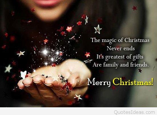 Christmas Magic Quote  2015 magic Christmas quote