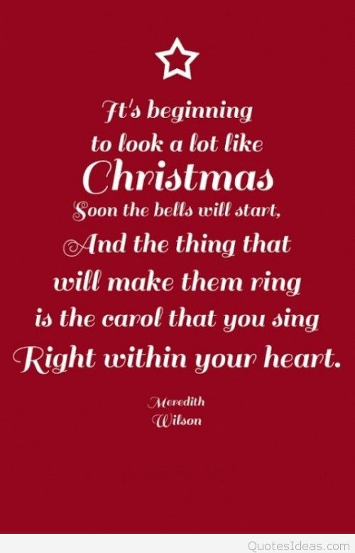 Christmas Magic Quote  Christmas quotes