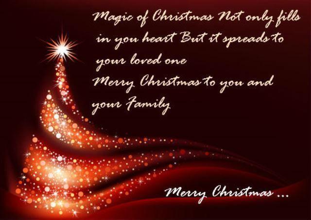 Christmas Magic Quote  Magic Christmas s and for