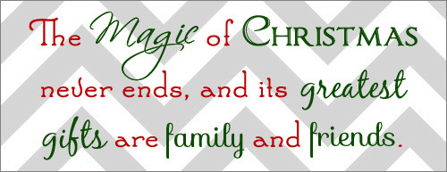 Christmas Magic Quote  Holiday Magic Quotes QuotesGram
