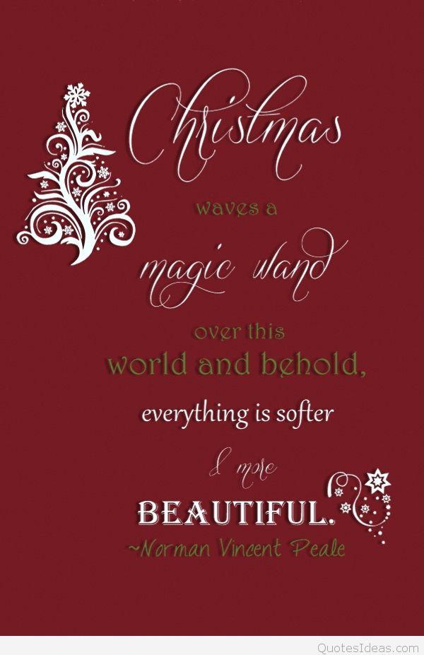 Christmas Magic Quote  magic star sayings