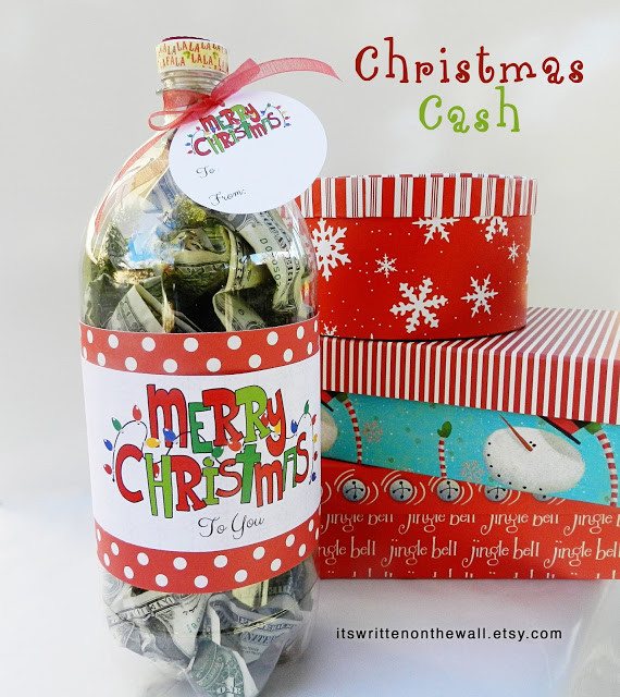 Christmas Money Gift Ideas  Creative Ways to Give Money as a Gift The Idea Room