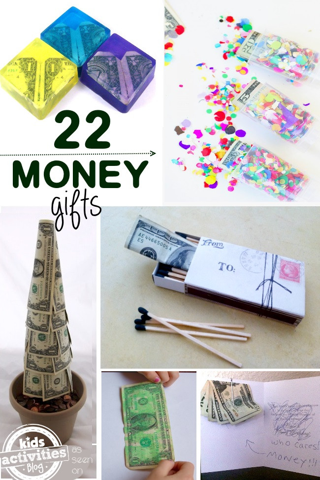 Christmas Money Gift Ideas  22 Creative Money Gift Ideas Kids Activities Blog