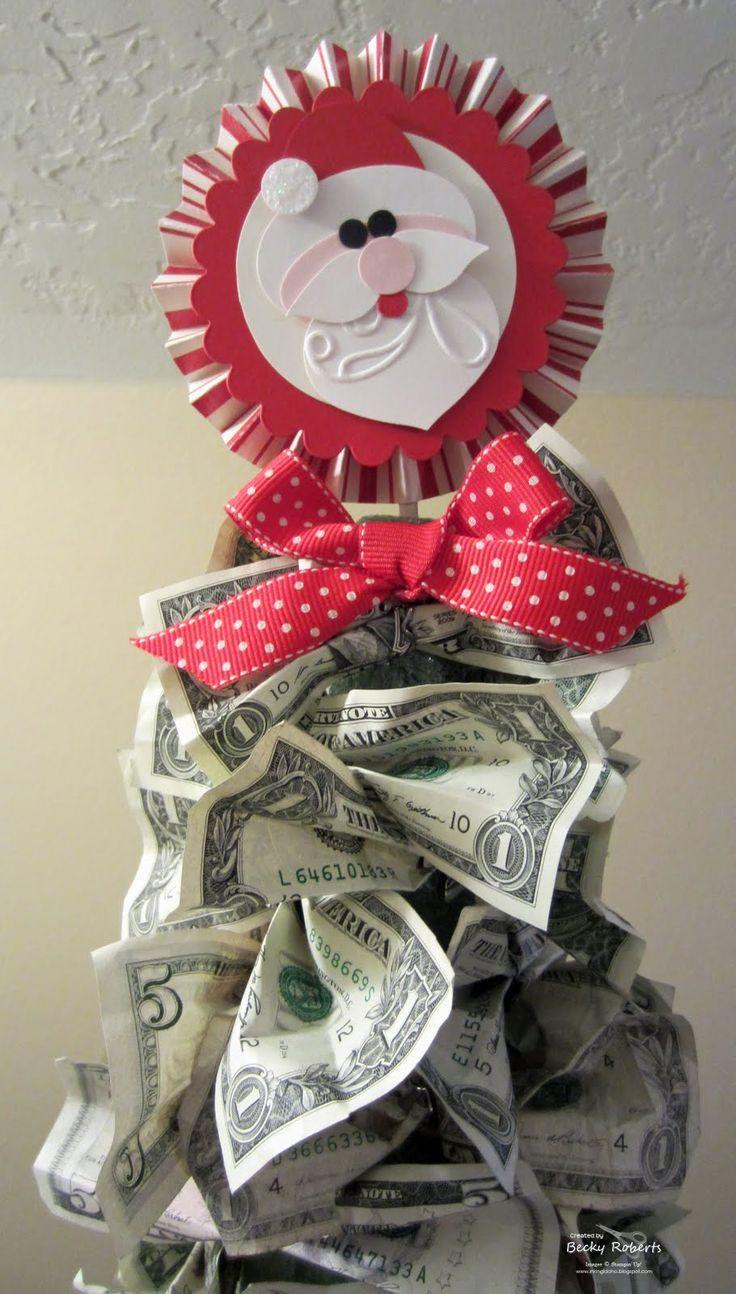 Christmas Money Gift Ideas  1000 ideas about Money Trees on Pinterest