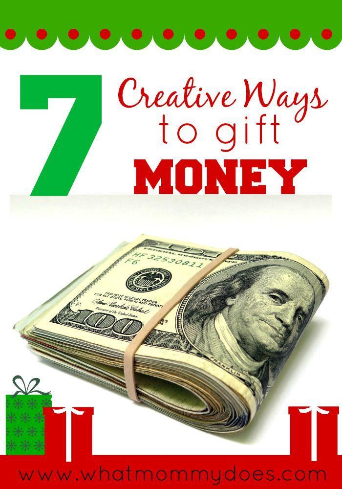 Christmas Money Gift Ideas  Best 25 Creative money ts ideas on Pinterest