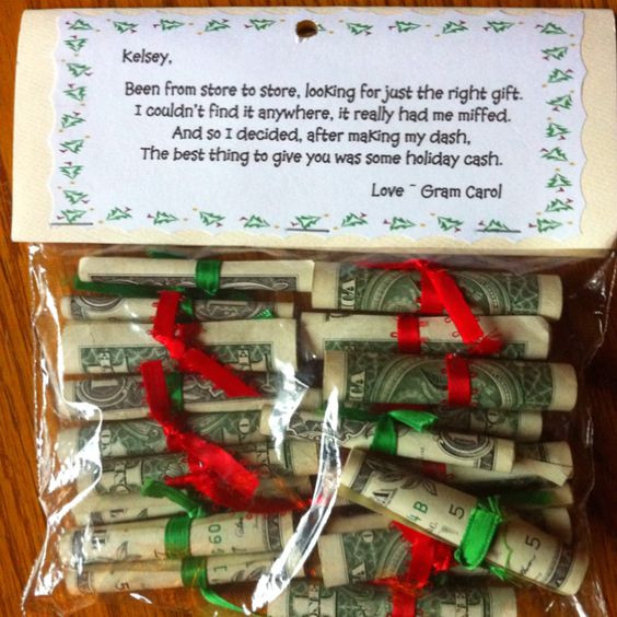 Christmas Money Gift Ideas  CREATIVE AND FUN CHRISTMAS GIFT IDEAS The Keeper of the