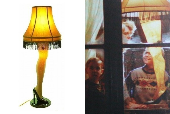 Christmas Movie With Leg Lamp  The Leg Lamp in A Christmas Story TV Fashion Roundup