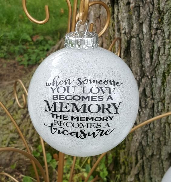 Christmas Ornament Quotes  Best 20 Memorial ornaments ideas on Pinterest