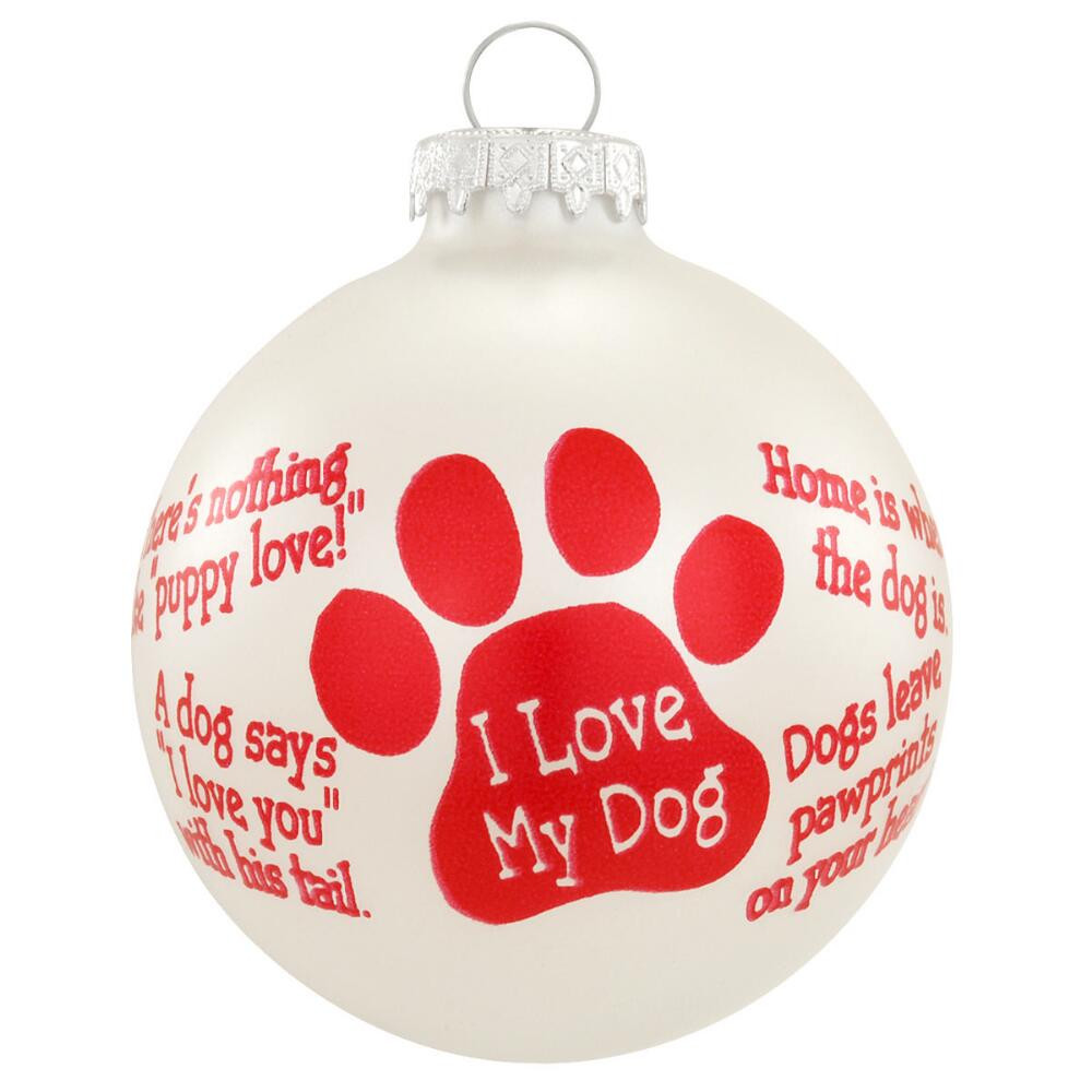 Christmas Ornament Quotes  Dog Sayings Ornament Animal