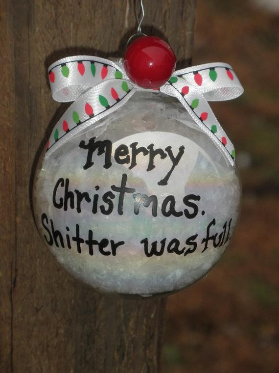 Christmas Ornament Quotes  National Lampoon s Christmas Vacation Movie Quote Ornament