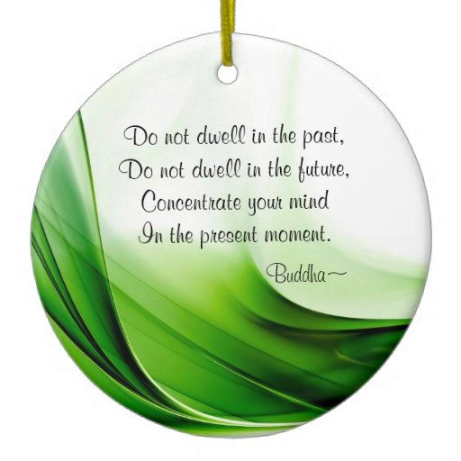 Christmas Ornament Quotes  Wise Buddha Quotes Abstract Christmas Ornament