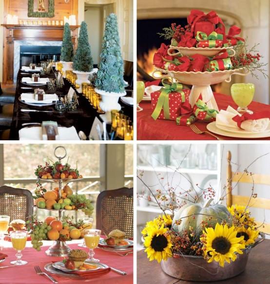 Christmas Party Centerpiece Ideas  Home Decoration Design Christmas Decoration Ideas