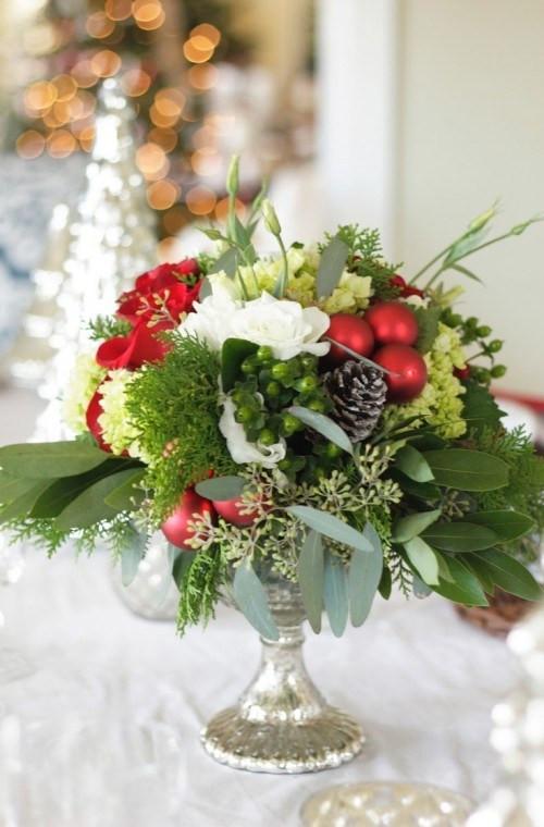 Christmas Party Centerpiece Ideas  20 Christmas Wedding Centerpiece Ideas • DIY Weddings Magazine