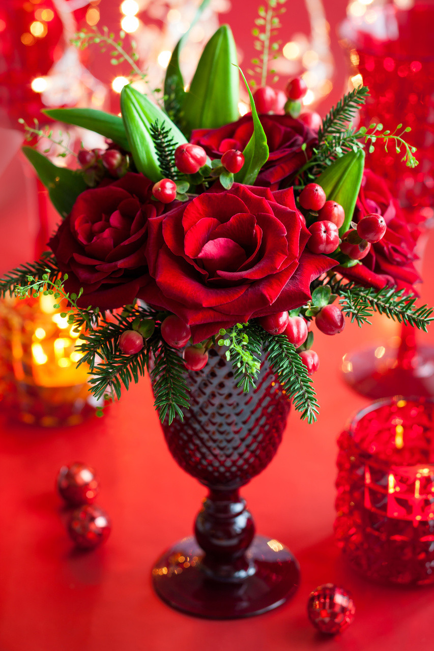 Christmas Party Centerpiece Ideas  Holiday Table Decorations
