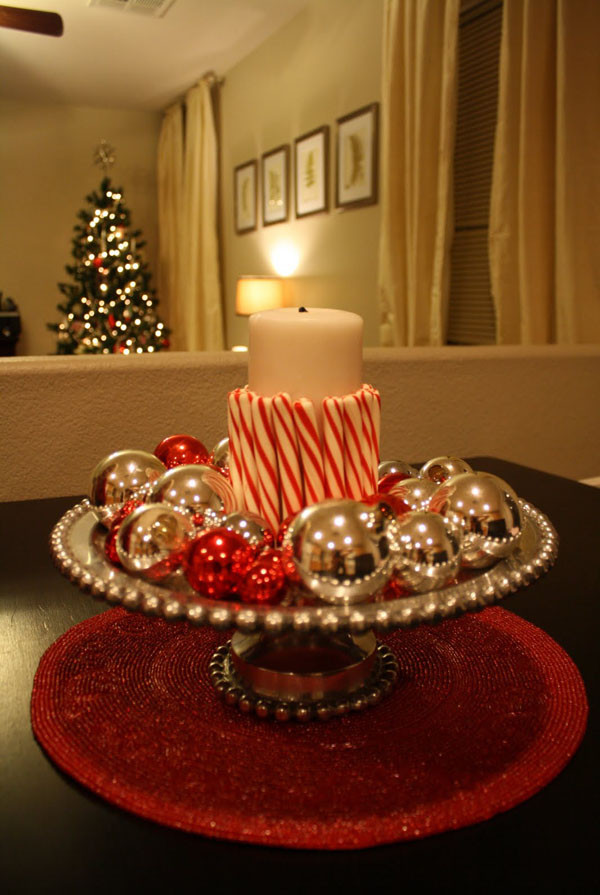 Christmas Party Centerpiece Ideas  40 Elegant Christmas Decorating Ideas and Inspirations
