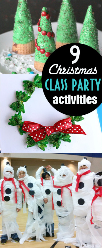 Christmas Party Game Ideas For Kids  Christmas Class Party Ideas Page 7 of 10 Paige s Party