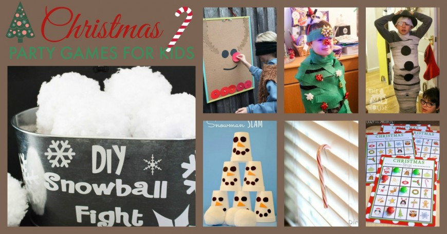 Christmas Party Game Ideas For Kids  Christmas Party Games