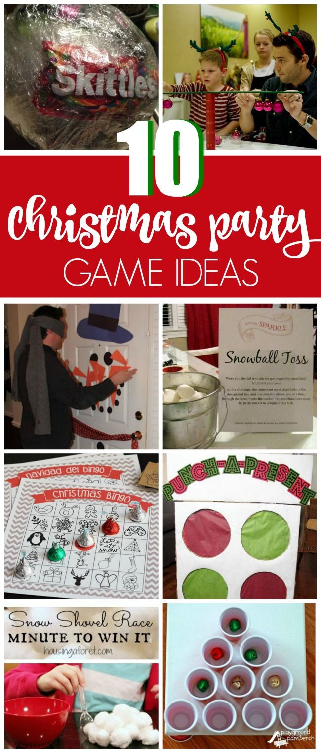 Christmas Party Game Ideas For Kids  Best 25 Christmas games ideas on Pinterest