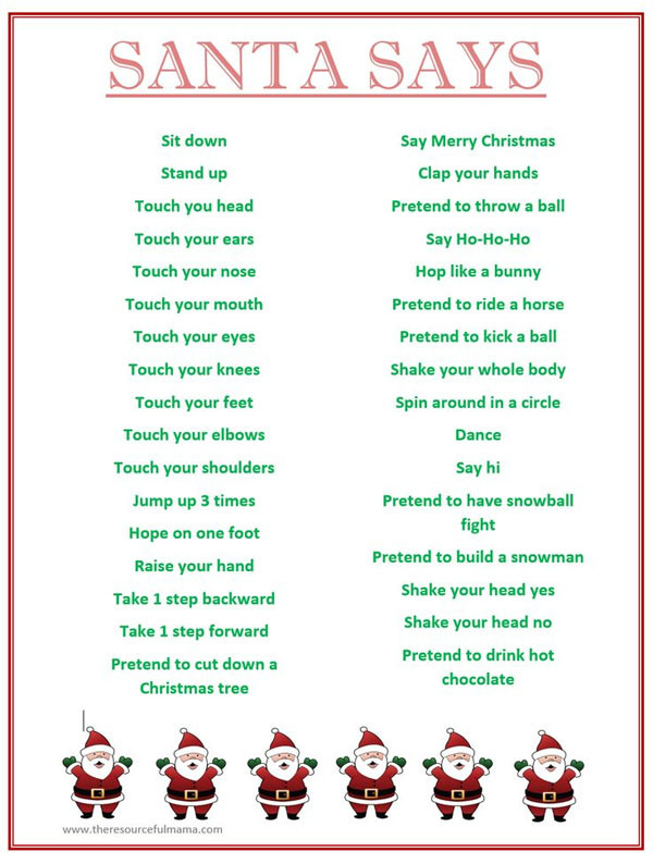Christmas Party Game Ideas For Kids  29 Awesome School Christmas Party Ideas