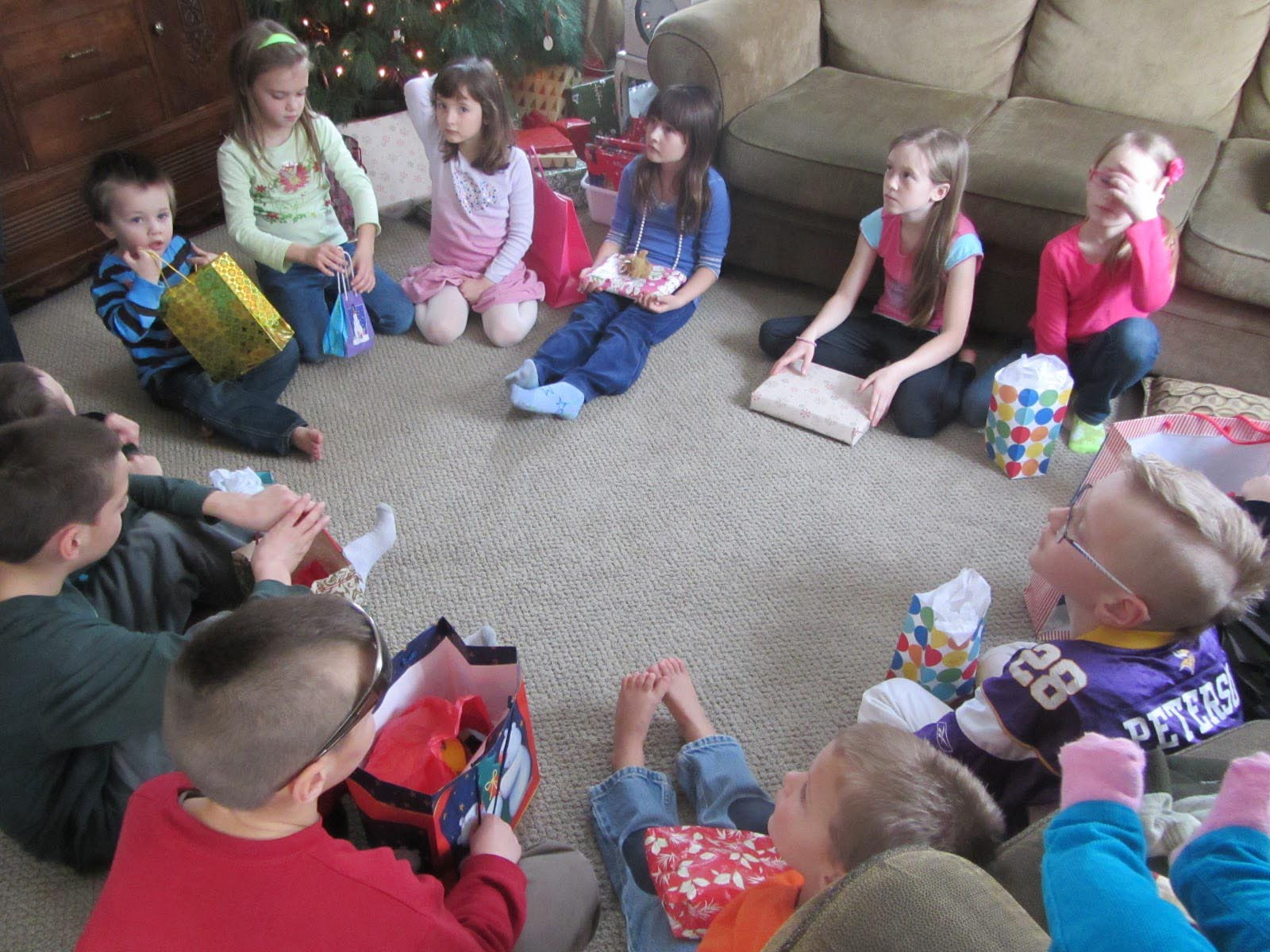 Christmas Party Game Ideas For Kids  Toddler Party Games that Create Movement Skills