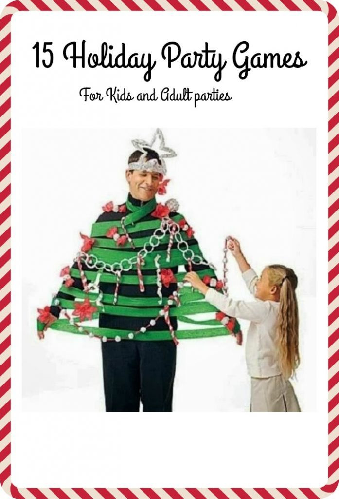 Christmas Party Game Ideas For Kids  15 Christmas Party Games to Play on Christmas for Adults