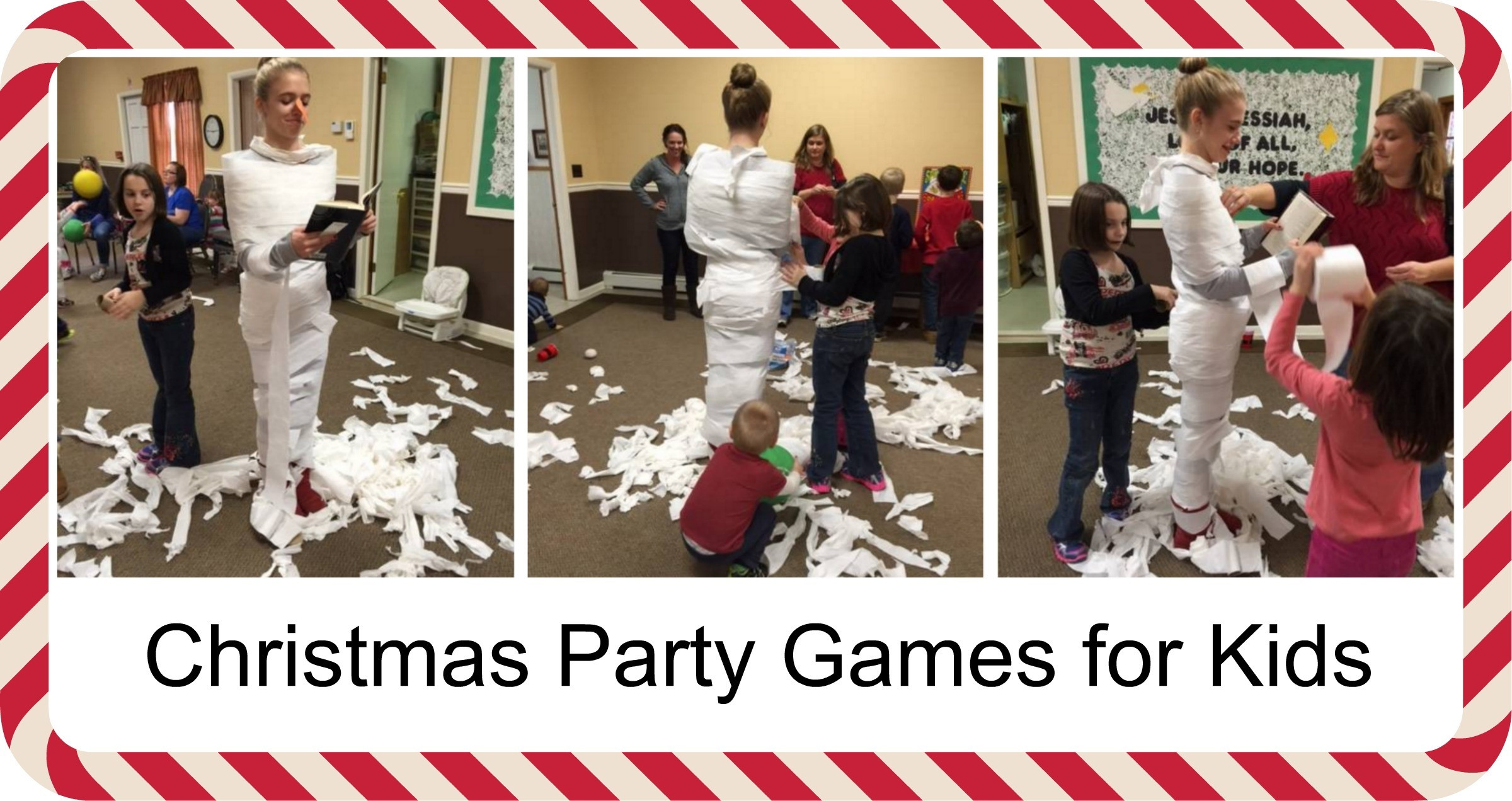 Christmas Party Game Ideas For Kids  Cool Christmas Games