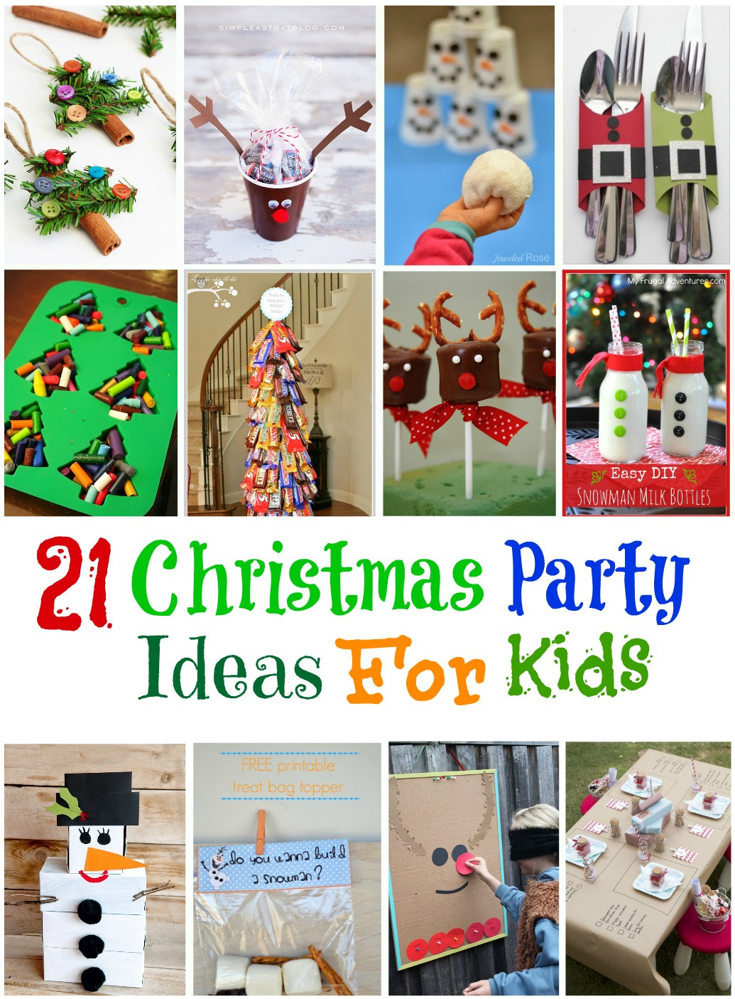 Christmas Party Game Ideas For Kids  20 Frozen Birthday Party Ideas