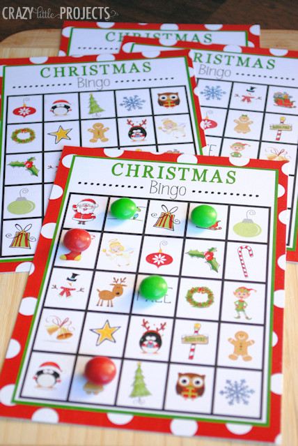 Christmas Party Game Ideas For Kids  7 Free Printable Christmas Games for Your Holiday Party
