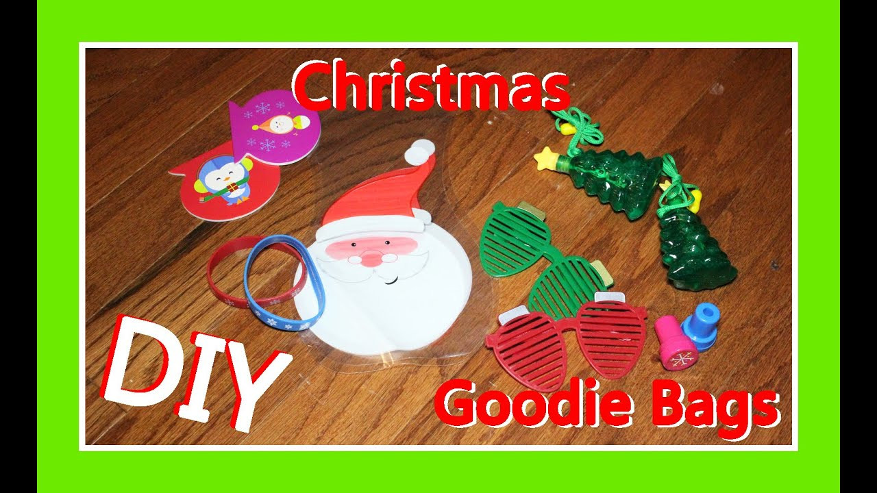 Christmas Party Goodie Bag Ideas  DIY Christmas Goo Bag Ideas