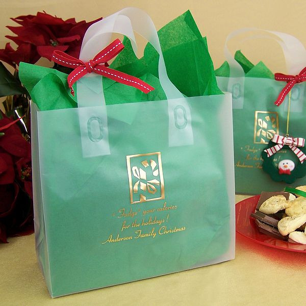 Christmas Party Goodie Bag Ideas  Personalized Christmas Party Gift & Goody Bags