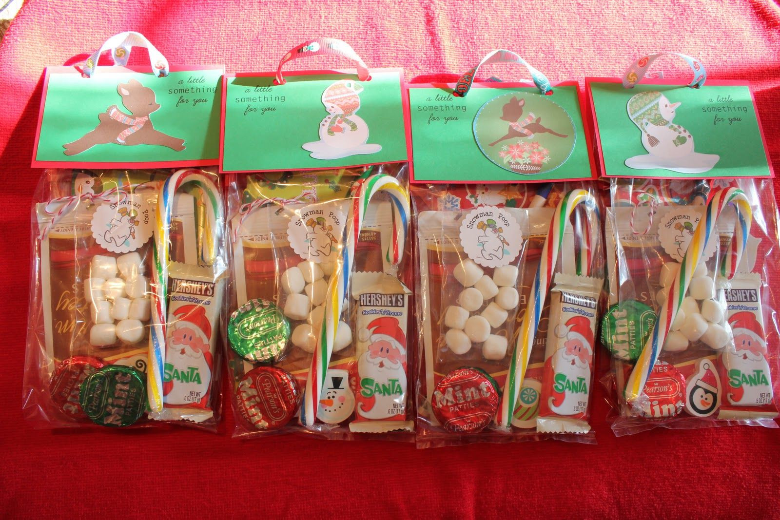 Christmas Party Goodie Bag Ideas  winter snacks for preschoolers
