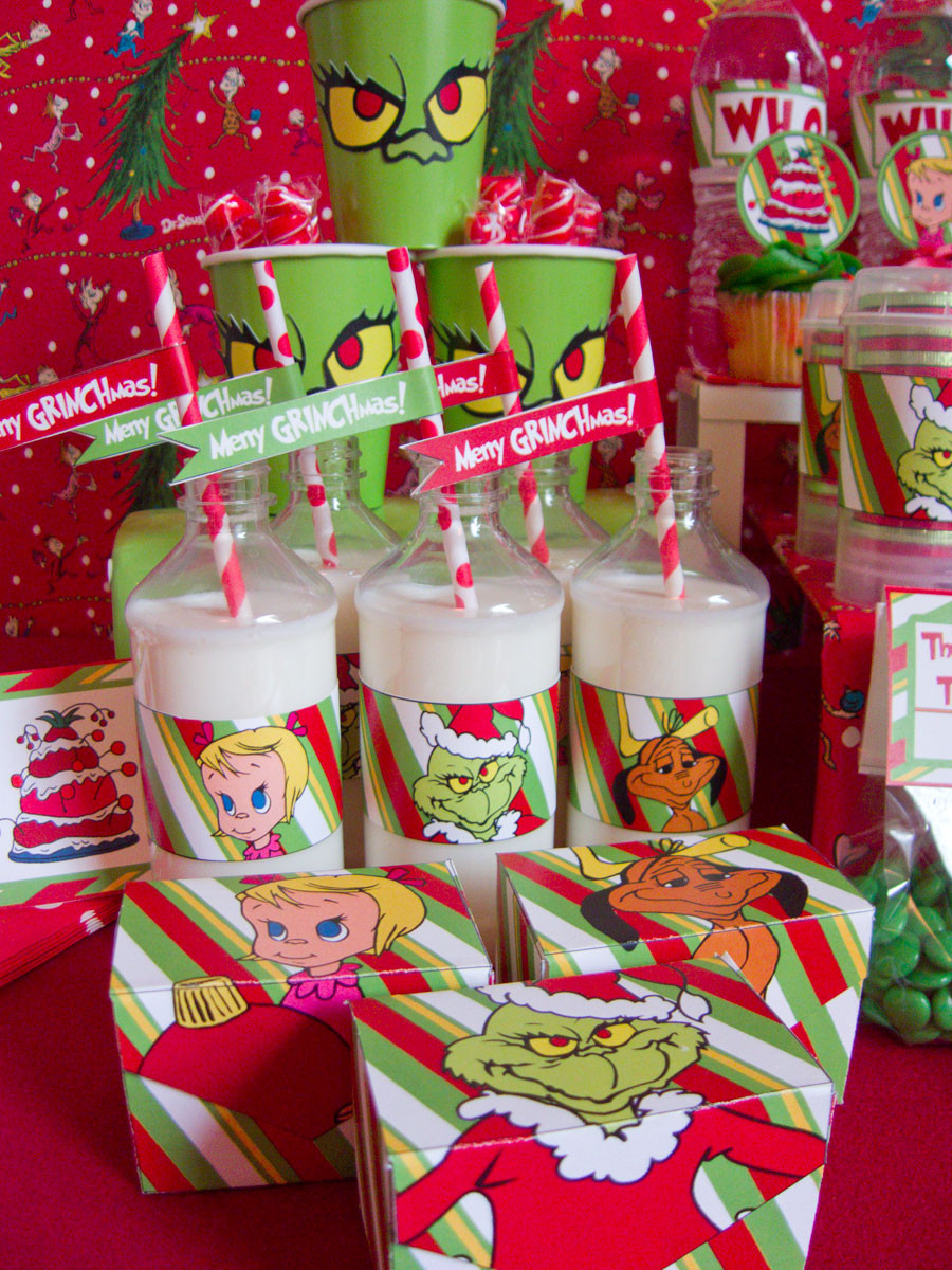 Christmas Party Ideas  Grinch Christmas party ideas