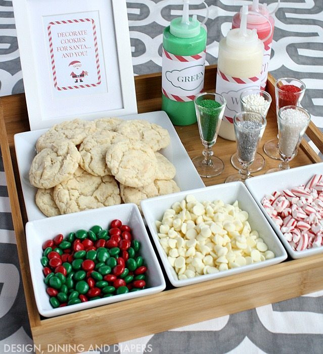 Christmas Party Ideas For Adults  Christmas Cookie Decorating Station Taryn Whiteaker