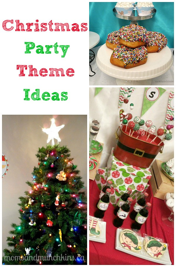 Christmas Party Ideas For Adults  Christmas Party Themes Moms & Munchkins