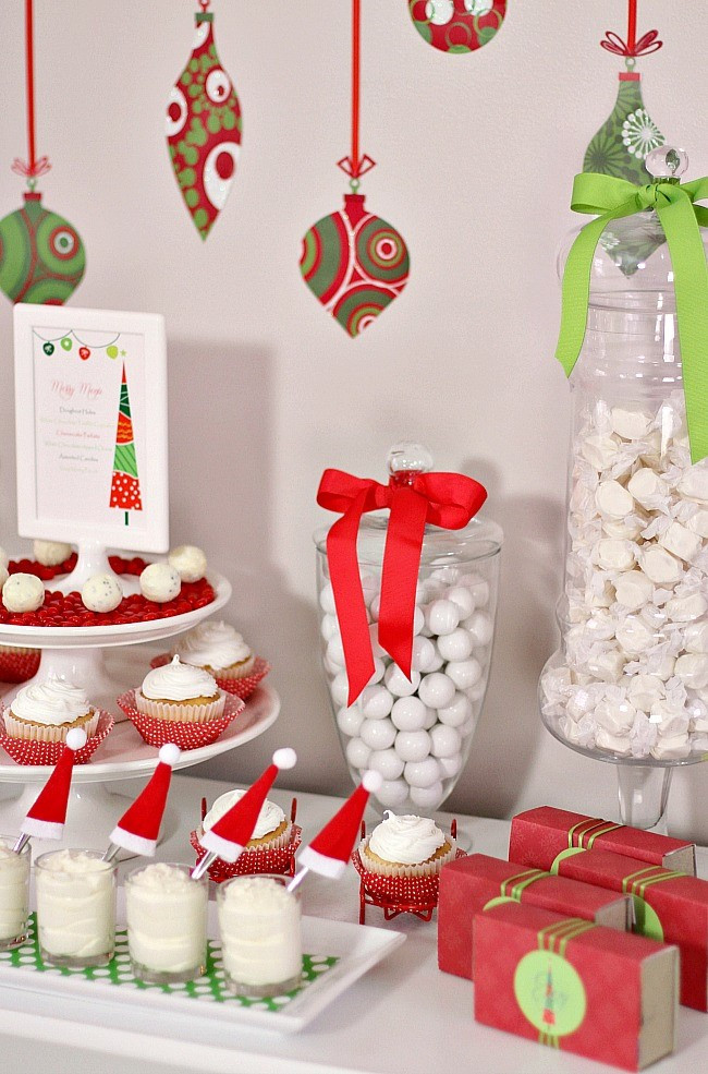 Christmas Party Ideas For Families  Traditional Red & Green Family Friendly Christmas Party