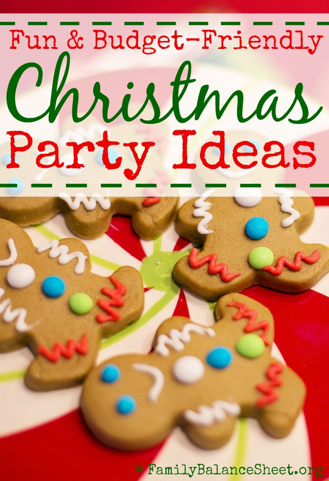 Christmas Party Ideas For Families  10 Christmas Party Ideas