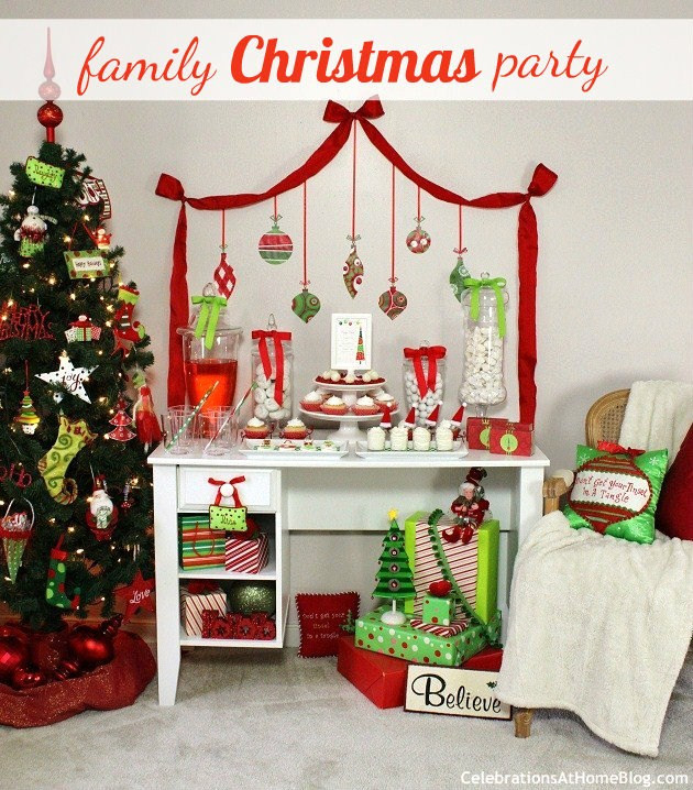 Christmas Party Ideas For Families  Family Friendly Christmas Party Ideas Celebrations at
