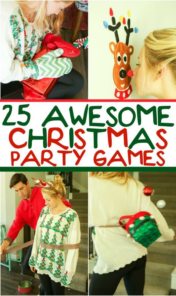 Christmas Party Ideas For Families  25 funny Christmas party games that are great for adults