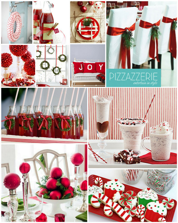 Christmas Party Ideas  Peppermint Christmas Red & White Party Ideas Party Ideas
