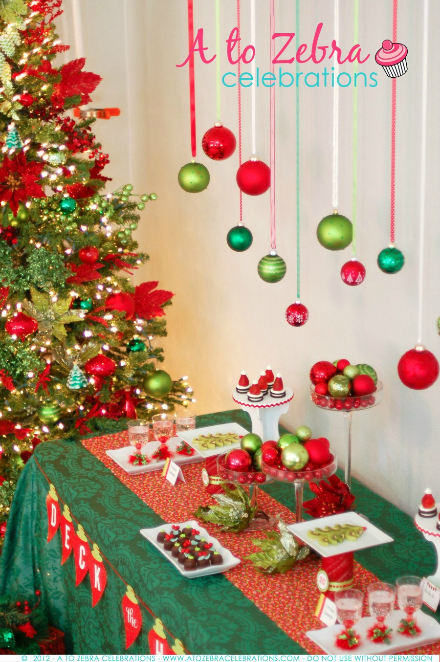 Christmas Party Ideas  Ornament Exchange Party Tips – A to Zebra Celebrations