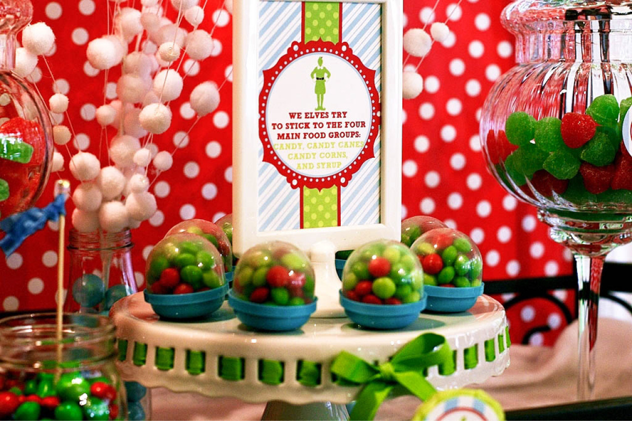 Christmas Party Ideas  Buddy the Elf Themed Brunch Party by Deliciously Darling