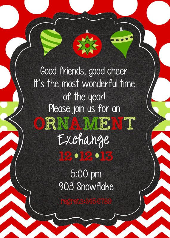 Christmas Party Invitation Ideas  Best 25 Christmas party invitations ideas on Pinterest