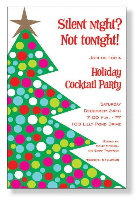Christmas Party Invitation Ideas  1000 ideas about Christmas Party Invitations on Pinterest