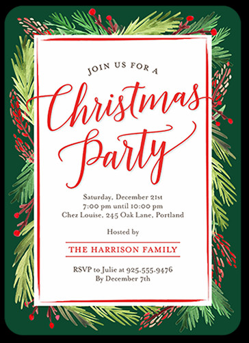 Christmas Party Invitation Ideas  20 Fun Christmas Party Activities