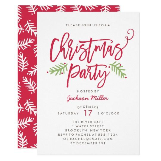 Christmas Party Invitation Ideas  550 best Christmas Holiday Party Invitations images on