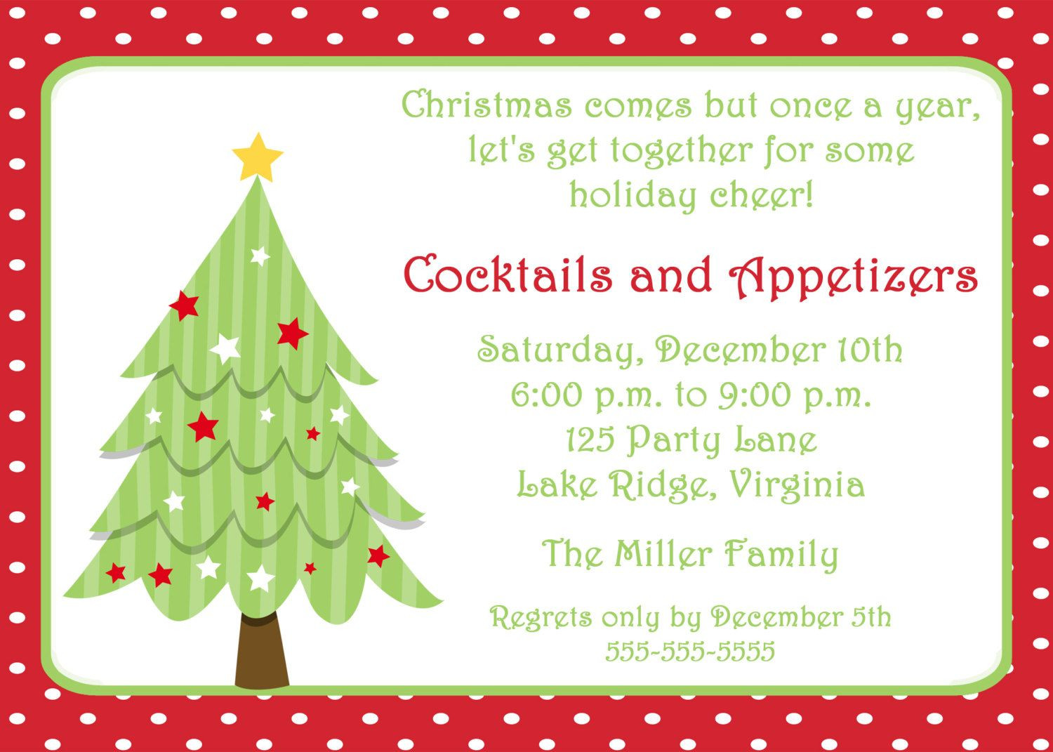 Christmas Party Invitation Ideas  free invitations templates free