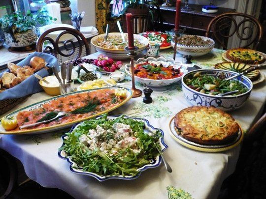 Christmas Party Menu Ideas For Large Groups  12 Tips for Arranging the Perfect Buffet Table